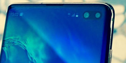 Samsung galaxy s10 и s10+ экран без рамки камера в экране